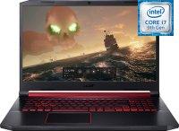 "Игровой ноутбук Acer Nitro 5 AN517-51-7630 (NH.Q5DER.019) (Intel Core i7-9750H 2.6GHz/17.3""/1920х1080/8GB/1TB HDD + 256GB SSD/nVidia GeForce GTX1660Ti/DVD нет/Wi-Fi/Bluetooth/Linux)"