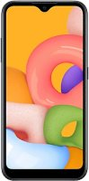Смартфон Samsung Galaxy A01 Black (SM-A015F/DS)