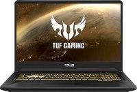 "Игровой ноутбук ASUS TUF Gaming FX705DY-AU065T (AMD Ryzen 5 3550H 2.1GHz/17.3""/1920х1080/8GB/1TB HDD + 256GB SSD/AMD Radeon RX 560X/DVD нет/Wi-Fi/Bluetooth/Win 10)"