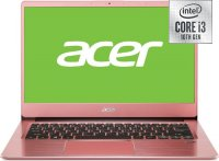 Ультрабук Acer Swift 3 SF314-58-316M (NX.HPSER.006) (Intel Core i3-10110U 2.1GHz/14''/1920x1080/8GB/256GB SSD/Intel UND Graphics/DVD нет/Wi-Fi/Bluetooth/Win10)