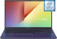 Ноутбук ASUS VivoBook 15 X512FA-BR652T (Intel Core i5-8265U 1.6GHz/15.6''/1366x768/8GB/256GB SSD/Intel UHD Graphics 620/DVD нет/Wi-Fi/Bluetooth/Win10)