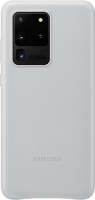 Чехол Samsung Leather Cover Z3 для Galaxy S20 Ultra Silver (EF-VG988LSEGRU) фото