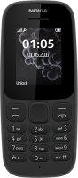 Мобильный телефон Nokia 105SS (2019) без зарядного устройства, Black (ТА-1203)