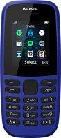 Мобильный телефон Nokia 105SS (2019) без зарядного устройства, Blue (ТА-1203)