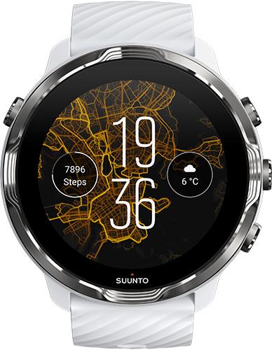 Смарт-часы Suunto 7 White Burgundy (SS050380000)