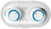 Беспроводные наушники с микрофоном Gal TW-3300 White фото