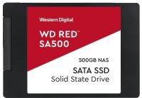 Твердотельный накопитель WD SA500 500GB Red (WDS500G1R0A)