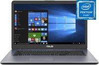 "Ноутбук ASUS VivoBook 17 X705MA-BX014 (Intel Pentium Silver N5000 1.1GHz/17.3""/1600х900/4GB/1TB/Intel UHD Graphics 605/DVD нет/Wi-Fi/Bluetooth/Endless OS)"