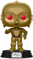 Фигурка Funko POP! Bobble: Star Wars: Rise of Skywalker-C-3PO (Red Eyes) (48222) funko pop bobble фигурка guardians of the galaxy 2 groot