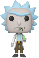 Фигурка Funko POP! Vinyl: Rick and Morty: 10 Rick (47379IE) rick and morty action figure collection model toy q vision keyring pendant rick and morty bobble head q edition keychain toys