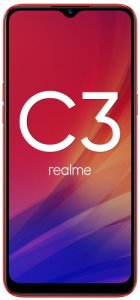 Смартфон Realme C3 3+64GB Blazing Red (RMX2020)