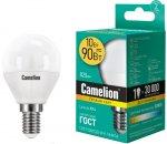 Светодиодная лампа Camelion LED10-G45/830/E14