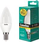 Светодиодная лампа Camelion LED10-C35/830/E14