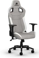 Игровое кресло Corsair Gaming T3 Rush Gray/White (CF-9010030-WW)