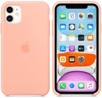 Чехол Apple Silicone Case для iPhone 11 Grapefruit (MXYX2ZM/A)