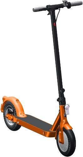 Электросамокат iconBIT Kick Scooter City Pro Orange (TRS2023)