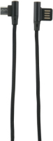 Кабель Red Line Fit USB/Micro USB Black (УТ000015523) jinga jincabmcusb12bl black кабель usb micro usb 1 2 м