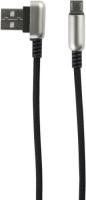 Кабель Red Line Loop USB/micro USB Black (УТ000016351) jinga jincabmcusb12bl black кабель usb micro usb 1 2 м