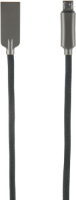 Кабель Red Line LX13 Zync Alloy USB/micro USB Black (УТ000014186) jinga jincabmcusb12bl black кабель usb micro usb 1 2 м
