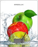 Кухонные весы Ergolux ELX-SK02-С01 весы ergolux elx sk03 c02 black