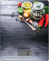 Кухонные весы Ergolux ELX-SK02-С02 весы ergolux elx sk03 c02 black