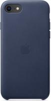 Чехол Apple Leather Case для iPhone SE 2020/7/8 Midnight Blue (MXYN2ZM/A)
