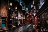 футболка классическая printio harry potter Постер Pyramid Harry Potter: Diagon Alley (PP34391)