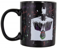 Кружка Paladone Batman and The Joker Heat Change Mug (PP5546DC) фото