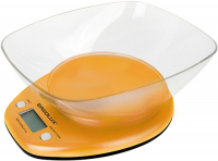 Весы кухонные Ergolux ELX-SK04-C11 Orange весы ergolux elx sk03 c02 black