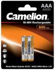 Аккумуляторы Camelion AAA (BL-2) 600mAh Ni-Mh, 2 шт