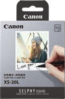 Набор для компактного фотопринтера Canon 20 листов + картридж (XS-20L)