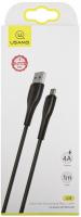 Кабель Usams U38 USB-A/microUSB 4A Black (УТ000020302) аксессуар usams u sun series us sj179 usb microusb 1 2m black