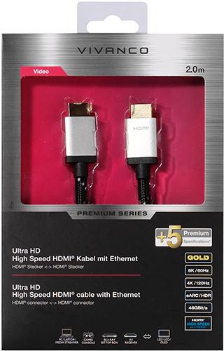HDMI-кабель Vivanco Ultra HD, 2 м (42207)
