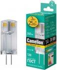 Светодиодная лампа Camelion LED3-G4-JC-NF/830/G4