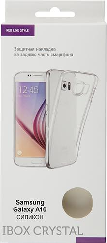 Чехол для смартфона Чехол Red Line iBox Crystal для Galaxy A10, прозрачный (УТ000017416) Москва