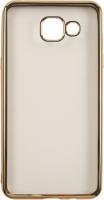 Чехол Red Line iBox Blaze для Samsung Galaxy A5 (2016), золотая рамка (УТ000009687) аксессуар чехол для samsung galaxy a5 2016 borasco silicone transparent