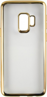 Чехол Red Line iBox Blaze для Samsung Galaxy S9, золотая рамка (УТ000014487) чехол ibox для samsung galaxy a41 blaze silicone black frame ут000020479