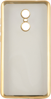 Чехол Red Line iBox Blaze для Xiaomi Redmi Note 4, золотая рамка (УТ000010645)