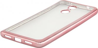 Чехол для смартфона Чехол Red Line Ibox Blaze Для Xiaomi Redmi Note 4X, Розовая Рамка (Ут000012953) Москва