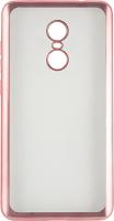 Чехол Red Line iBox Blaze для Xiaomi Redmi Note 4X, розовая рамка