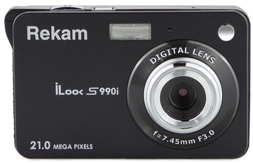 Компактный фотоаппарат Rekam iLook S990i Black Metallic