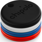 Комплект умных брелков Chipolo One, 4 шт Black/Blue/Red/White (CH-C19M-4COL-R)