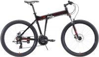 """Горный велосипед Stark Cobra 26.2 HD 20""""/2020, черный/красный (H000016463)"""