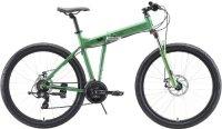 """Горный велосипед Stark Cobra 27.2 D 18""""/2020, зеленый/черный (H000016460)"""