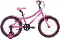 Велосипед детский Stark Foxy 18 Girl 2020, розовый/белый (H000016491)