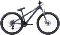 Городской велосипед Stark Pusher-1 S/2020, серый/серебристый (H000014185)