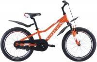 Велосипед подростковый Stark Rocket 20.1 S 2020, оранжевый/белый/красный (H000016485)