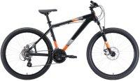 """Горный велосипед Stark Shooter-1 16""""/2020, черный/белый/оранжевый (H000014183)"""
