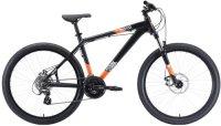 """Горный велосипед Stark Shooter-1 18""""/2020, черный/белый/оранжевый (H000014804)"""