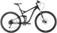 """Горный велосипед Stark Tactic 29.5 FS HD 22""""/2020, черный/серебристый (H000016246)"""